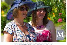 Hats / Decorative, flamboyant and fun hats seen at weddings