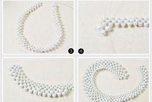 Collares perlas