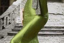 yeşil elbiseler / Grenn dress