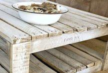 Whitewash wood