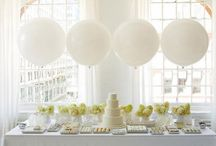 A White Wedding / A collection of beautifully simple, elegant yet luxurious wedding ideas!