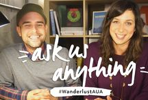 """#WanderlustAUA / In an effort to provide you real-time updates and answer your most frequently asked questions about our 108 World Tour and Festivals, we'll be launching a new video series called """"Ask Us Anything.""""  Email us at tribe@wanderlust.com or use the hashtag #WanderlustAUA across social media to submit your questions and join the conversation. Your question could be featured in an upcoming segment!"""