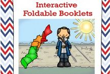 Colonial American/Westward Expansion - Interactive Foldables