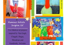 Teacher Resources / Nothing like having a one-stop place to find resources. / by Art Lessons For Kids