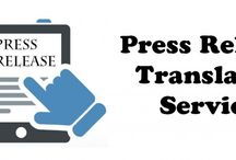 Press Release Translation Services / As a global entity, we render avant-garde Press Release Translation services within specific time frame