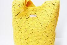 Handbags - Crochetrelated / #Crochet #Handbag #Fashion #Design
