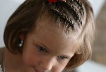 Braids for a little girl