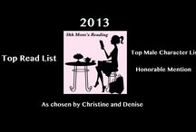 Favorites of 2013 / It was another AMAZING year for books!  Denise and Christine came up with our 10 Favorite books for 2013 and yes it was so hard that we do have a list of our Honorable Mentions! http://shhmomsreading.com/our-favorite-books-and-boys-for-2013-and-a-giveaway/