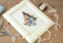 Custom cross stitch / Custom cross stitch. Monogram Wall decor Personalised cross stitch