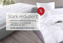 Matratzen und Bettwaren