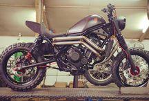 Custom 2017 Honda Rebel 500 & 300 Motorcycle Pictures