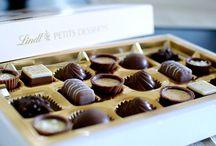 Lindt Chocolate / Kokuları şimdiden burnuma gelen Lindt çikolatalara karşı koymak gerçekten imkansız!