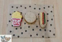 Rocky & Maggie's Fresh Bakery Treats. / Tasty delicious dog cookies!