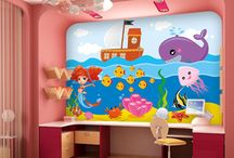 Underwater Wall Mural / Underwater Wall Mural - Under the sea Atlantis adventures