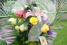 Virágcsokor névnapra hölgy részére