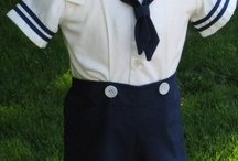 Baby boy sailor clothes