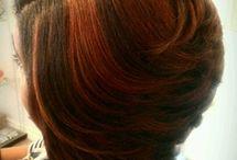 sew in hair