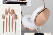 Copper inspiration / We love copper. Wat kun je hier veel mee combineren!