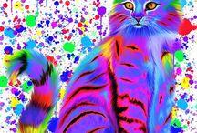 Cat Art for Angele
