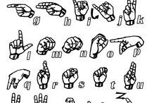 Sign Language  / by Heather Crotwell Templet
