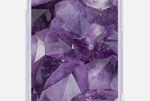 Color Inspiration: Amethyst / Amethyst is a beautiful gemstone and an even more beautiful color! Find inspiration for amethyst purple decor, fashion, and jewelry.