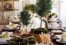 Tablescapes/ Table Settings / by Jennifer Crotty Holmes - Dear Lillie