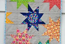 Quilts: Wonky stars