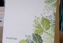 SU French Foliage & Nature Walk / DIY Cards / by Kathy Coignard