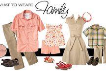 Одежда Семейная фотосессия