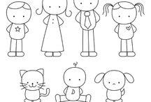 Doodle  gente