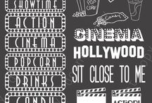 Chalkboard cinema