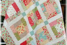 Layer cake and charm pack quilts
