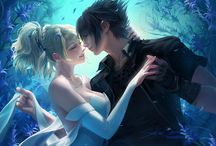 Noctis and Luna (Final Fantasy XV)