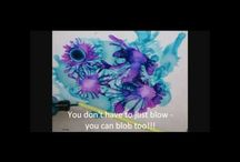 Art Techniques - Alcohol Ink / by Ann McCullough