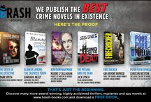 Our Advertisements / Copies of our print and web advertisements for the Best Crime Novels in Existence! / by Brash Books