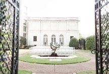 Brooks Museum JA Shoot / Inspiration board for Pemberly/ Jane Austen inspired styled shoot. Brooks Museum in Memphis, TN.