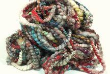 FatCatKnits Handspun Yarns / Crazy for spinning art yarns!