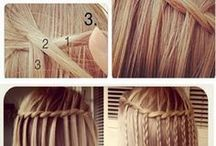 Hair Styles for Kids / Braids, ponies and piggies.