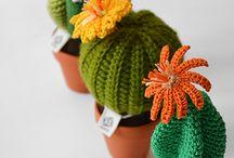 サボテンちゃん 編み物