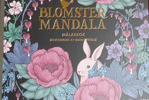 Blomster Mandala / Meine Bilder aus dem Buch Blomster Mandala von Maria Trolle