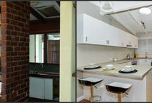 DIY Renovation Before and Afters / Before and after kitchens
