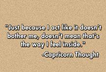 My Horoscope: Capricorn / by Karen Ann