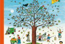 Anotimpuri: Toamna / Plină de contraste. Cu frunze arămii și cele mai multe nuanțe ale culorilor calde. Cu miros de frunze uscate și zeamă de fructe savuroase. Cu ploaie și cu soare, cu vanticel subțire si dimineți puțin înțepătoare pe la nări. Sa vedem ce cărți frumoase despre toamnă le putem citi copiilor.