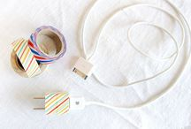 Washy Tape Inspirations / How to use washy tape