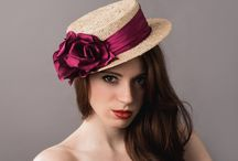 Spring/Summer 2015 / Hats and headpieces from Natasha Moorhouse Millinery SS15 collection www.natashamoorhouse.com