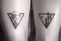 tatuagem com o nego