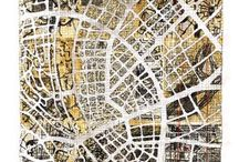 Maps / Historical, quirky, arty, pictorial....global maps