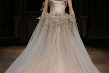 Wedding dresses - champagne