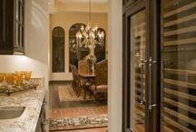 butler's pantry/wine room