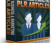 Resell Right Articles / Largest Collection of PLR ,MRR Articles on  Various Topics.